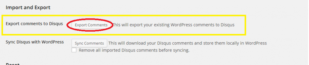 import disqus