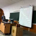 ponencia en la universidad de alicante