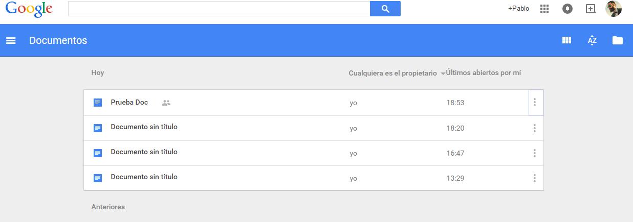 Google Documentos-Google Docs
