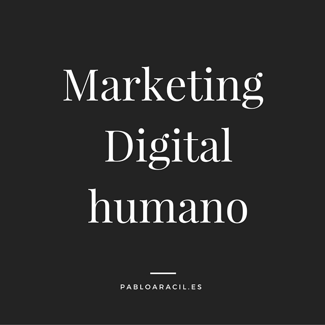Marketing Digital humano