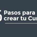 5 Pasos para crear tu curso online