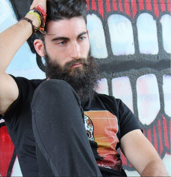 Pablo Aracil beard
