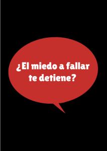 miedo a fallar
