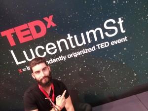 Pablo Aracil en TEDxLucentumSt