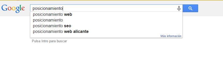 Exclusión de términos de búsqueda