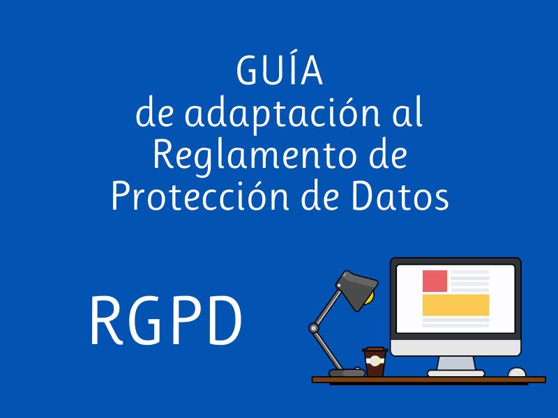 RGPD Reglamento Proteccion de Datos