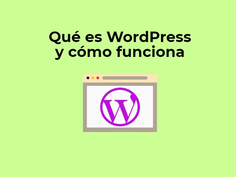 que es wordpress y como funciona